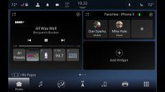 La schermata principale di Uconnect 5