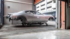 La scocca della Maserati GranTurismo Zéda