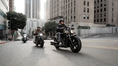 La Scout Bobber Sixty in movimento