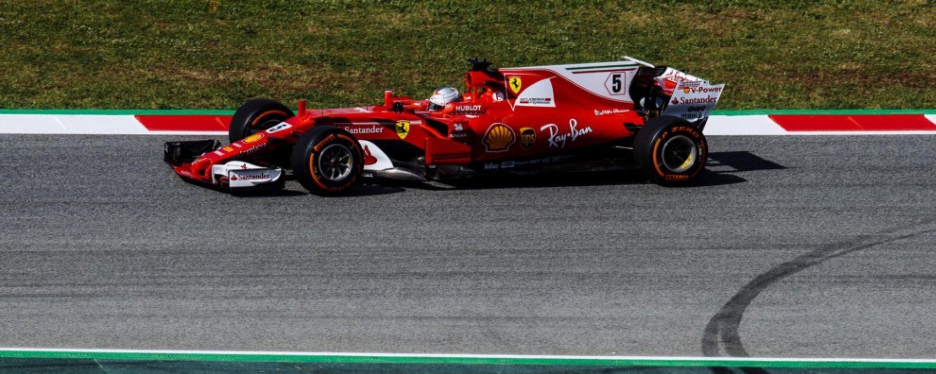 Ferrari al GP Spagna: nuove soluzioni aerodinamiche nei test