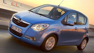 La seconda generazione di Opel Agila