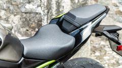 La sella della Kawasaki Z900