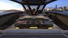 Tecnomar for Lamborghini 63: lo yacht ispirato alla Sian FKP 37 - Immagine: 5