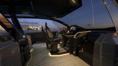 Tecnomar for Lamborghini 63: lo yacht ispirato alla Sian FKP 37 - Immagine: 8