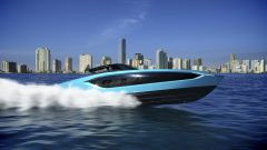 Tecnomar for Lamborghini 63: lo yacht ispirato alla Sian FKP 37 - Immagine: 13