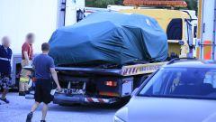 La Skoda Octavia RS incidentata