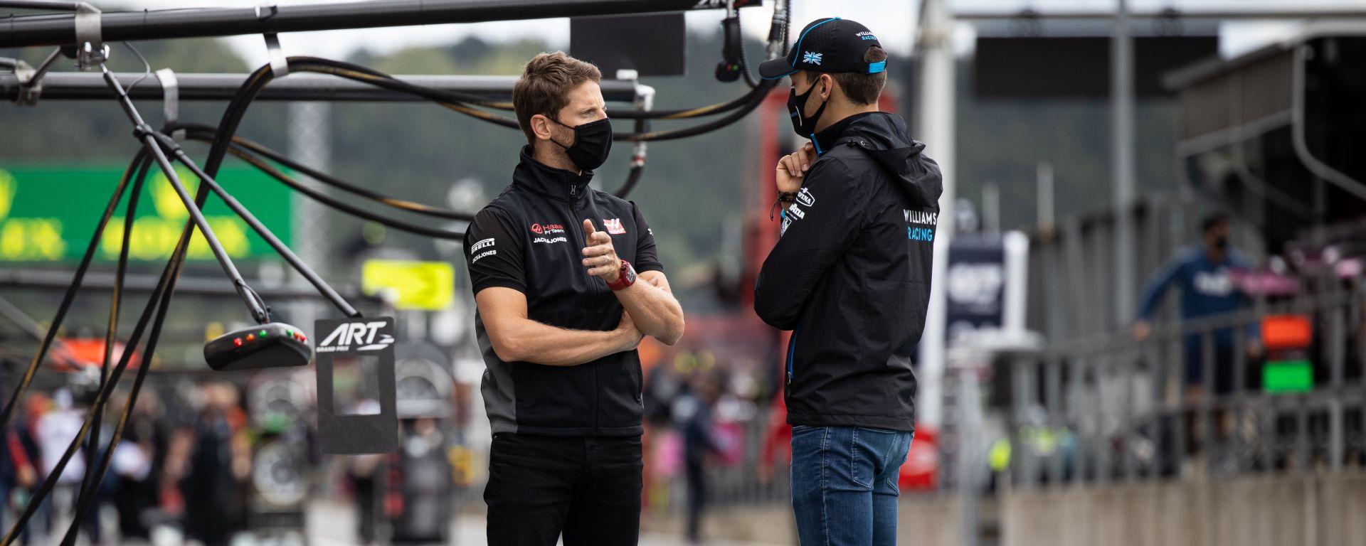 Romain Grosjean e il rapporto speciale con George Russell