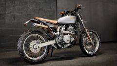 La special di Ellaspede su base Suzuki DR650