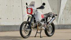 La special Myh 001 su base R 80 G/S: il serbatoio è da oltre 40 litri