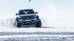 La speciale Hyundai Santa Fe che ha attraversato l'Antartide è stata modificata per l'occasione