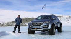 La speciale Hyundai Santa Fe con Patrick Bergel, pronipote dell'esploratore inglese sir Ernest Henry Shackleton