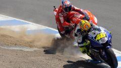 La storia della MotoGP, il sorpasso di Rossi a Stoner al cavatappi, Laguna Seca 2008