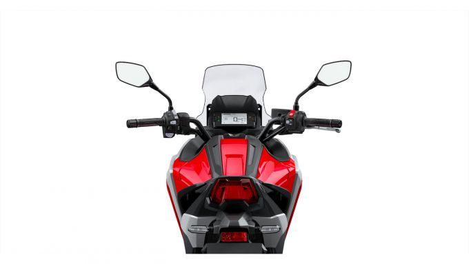 La strumentazione della Honda NC750X 2021