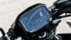 La strumentazione della Kawasaki Z650 2021
