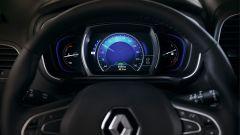 La strumentazione della Renault Koleos ha il tachimetro digitale