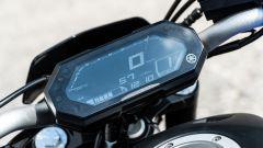 La strumentazione della Yamaha MT-07 2021