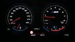 La strumentazione digitale della BMW M2 CS 2020