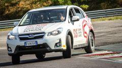 La Subaru XV nella prova del sovrasterzo