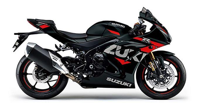 La Suzuki GSX-R 1000 nera e rossa è solo per il Giappone al momento