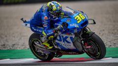 La Suzuki GSX-RR MotoGP guidata da Joan Mir