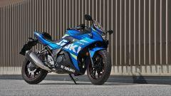 La Suzuki GSX250 R potrebbe essere mandata in pensione da un modello 300 cc più sportivo