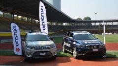 La Suzuki Vitara e la Suzuki S-Cross per la FCI