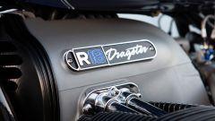 La targhetta sul motore della BMW R 18 Dragster by Roland Sands
