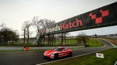 La Taycan a Brands Hatch