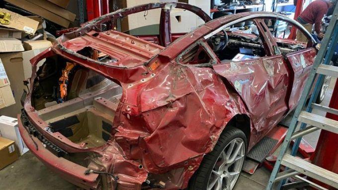 La Tesla Model 3 Performance: usata e venduta su Ebay