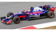 La Toro Rosso di Pierre Gasly al suo debutto in Malesia