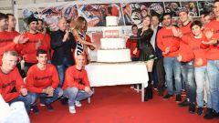 La torta della festa Nolan