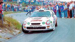 La Toyota Celica di Kankkunen per il WRC 1995