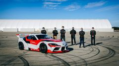 La Toyota GR Supra che drifta da sola: il team