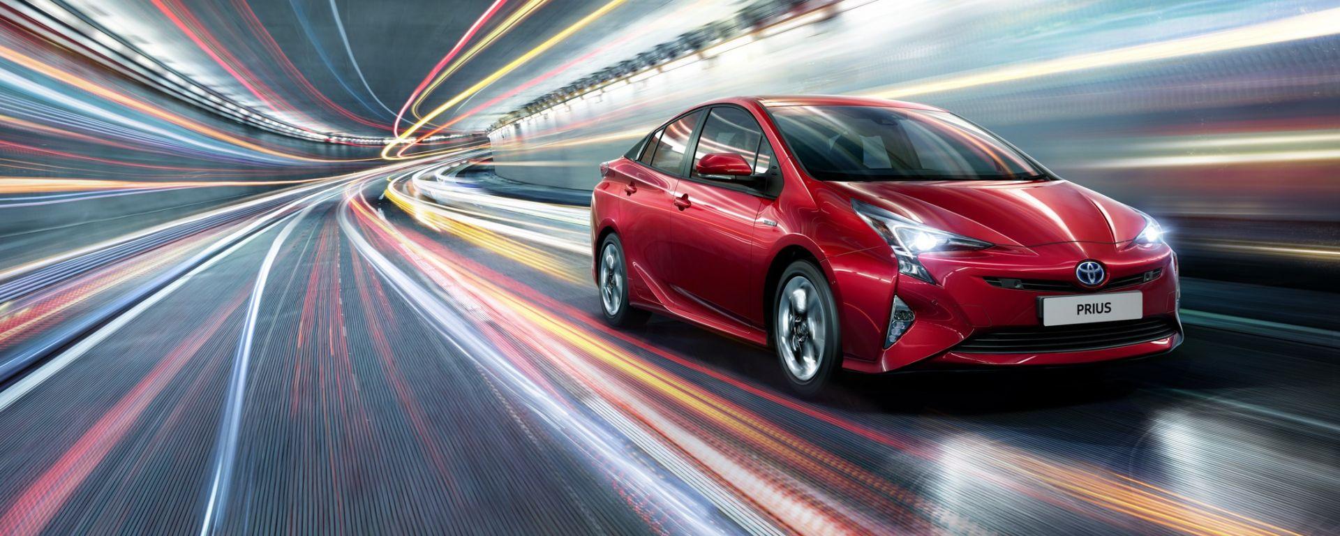 Toyota  Prius non entra più gratis nell'Area C (di Londra)