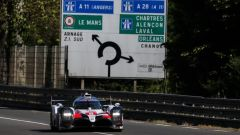 24H Le Mans, la Toyota di Buemi (e Alonso) la più veloce nei test