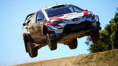 La Toyota Yaris WRC ha dato spettacolo in sardegna