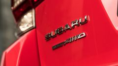 La trazione integrale resta fedele al sistema Subaru Symmetrical AWD