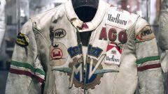 La tuta da gara di Giacomo Agostini