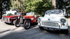 Al British Motor Museum le auto storiche si provano