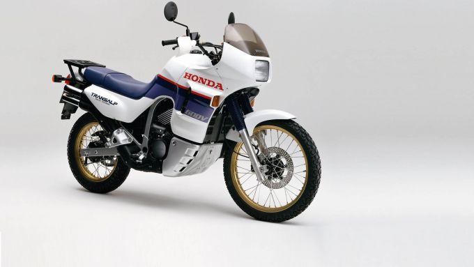 La vecchia Honda Transalp