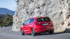 La velocità massima della Fiesta ST 2018 è di 232 km/h