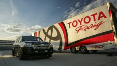 La versione elaborata della Toyota Land Cruiser ha raggiunto i 370 km/h di velocità massima