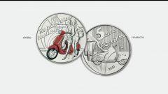 La Vespa diventa moneta