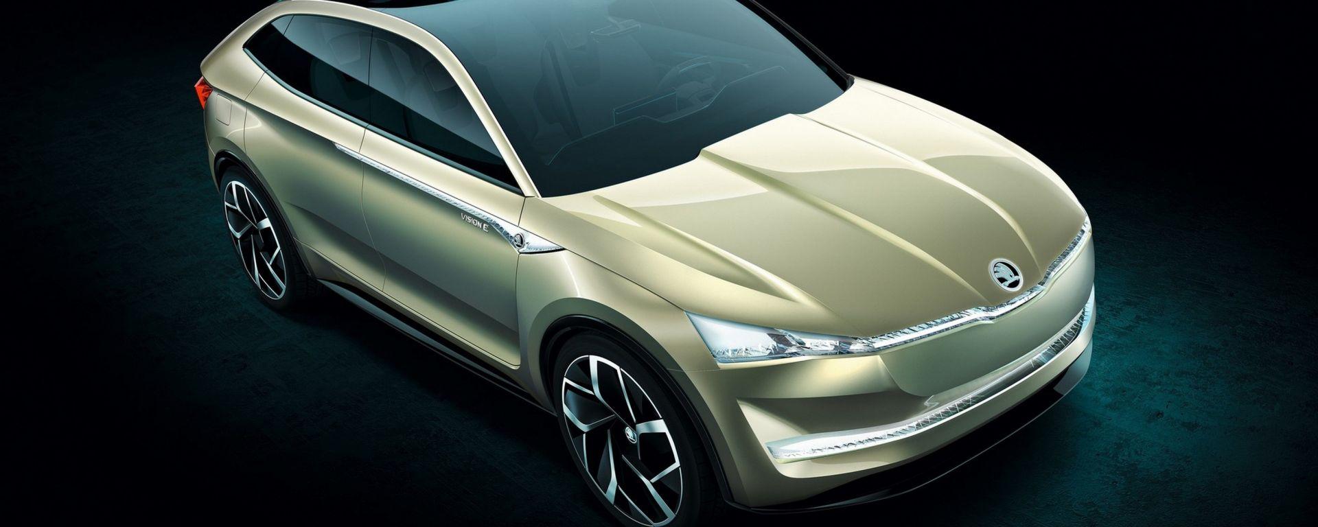 La Vision E Concept anticipa il primo SUV elettrico di Skoda