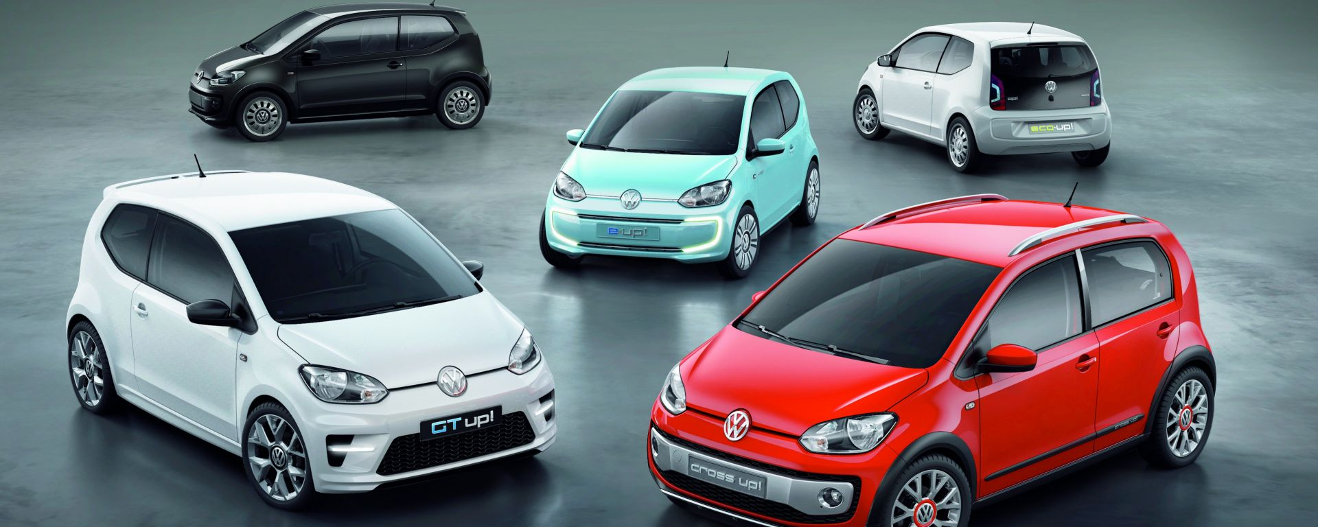 La Volkswagen up! e le sue sorelle