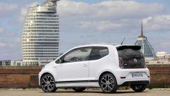 La Volkswagen Up! GTI sfoggia uno spoiler posteriore più grande