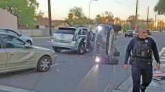 La Volvo XC90 di Uber coinvolta in un incidente nel 2017