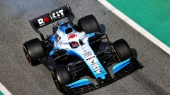 La Williams FW42 nei test di Barcellona