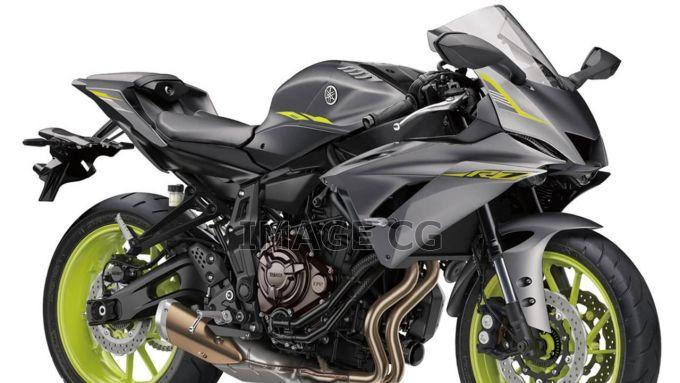 La Yamaha YZF-R7 come è stata immaginata oggi