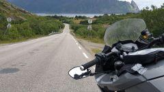 La Zero Motorcycles SR/S nel bel mezzo del viaggio verso Caponord